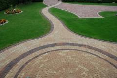 Lesznowola Libet kostka brukowa ścieżka Colormix Akropol Piccola schody