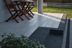 Michałowice - Libet Impressio, Completto -Trawertyn, Stopień Split  - taras, schody