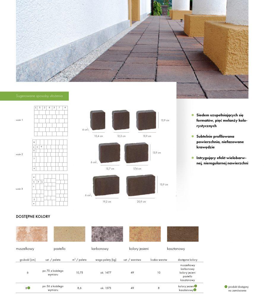 Kostka LIBET Colormix Akropol