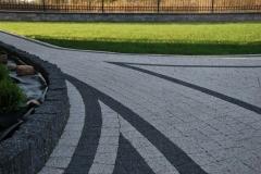 Michałowice -  Libet Elegante, Completto - Piccola bianco carrara, nero ; Palisada Split nero - alejka