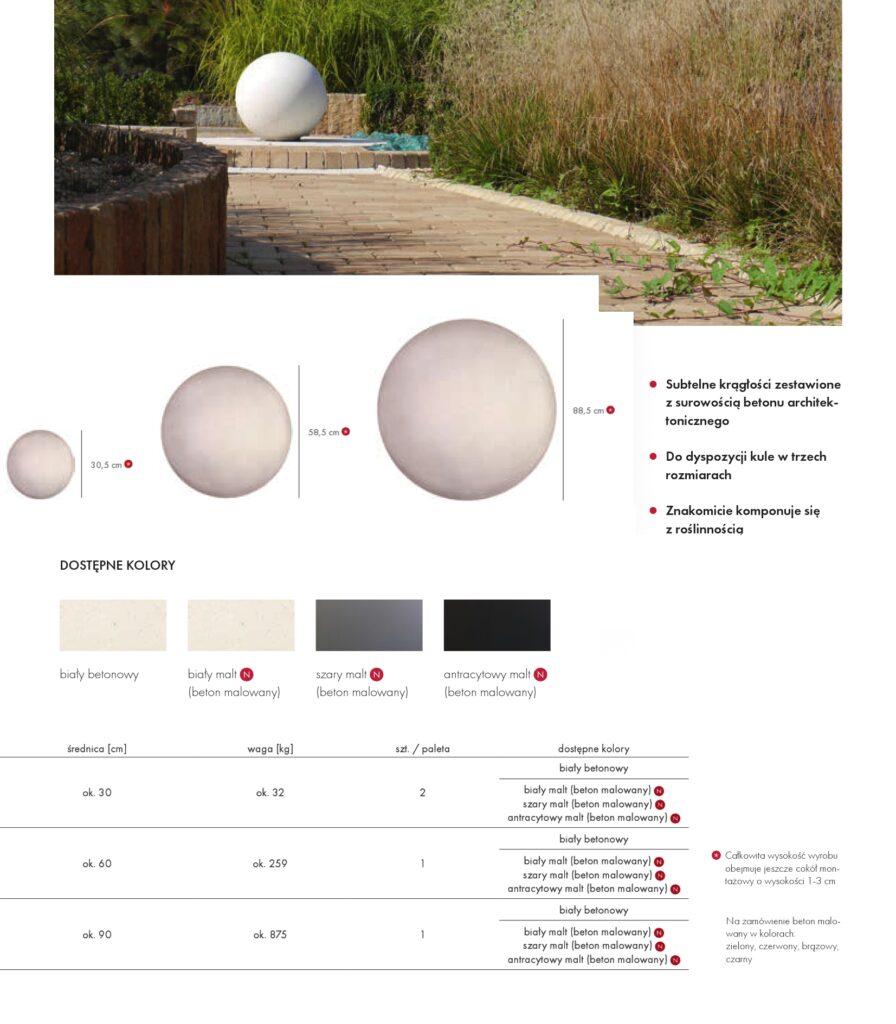 kule betonowe Libet Stampo